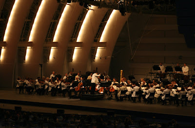 The Los Angeles Philharmonic at the Hollywood Bowl on 17 July 2008