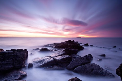 crail sunrise! by tom fincher