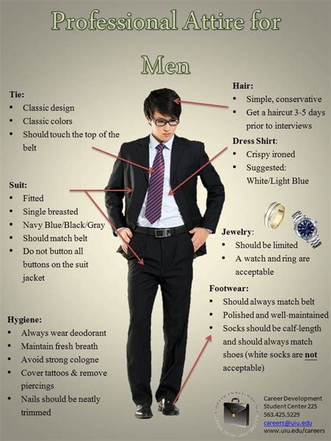 What Should A Man Wear To A Professional Interview