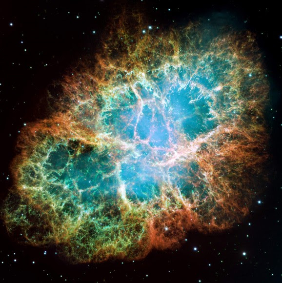 The Crab Nebula was first observed in the 1700s and is catalogued Messier object, M1. The remant explosion of a SuperNova, Chinese astronomers observed in 1054 A.D and holds the second Pular discovered (1968).