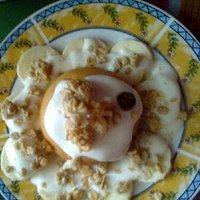 Pożywna babeczka śniadaniowa