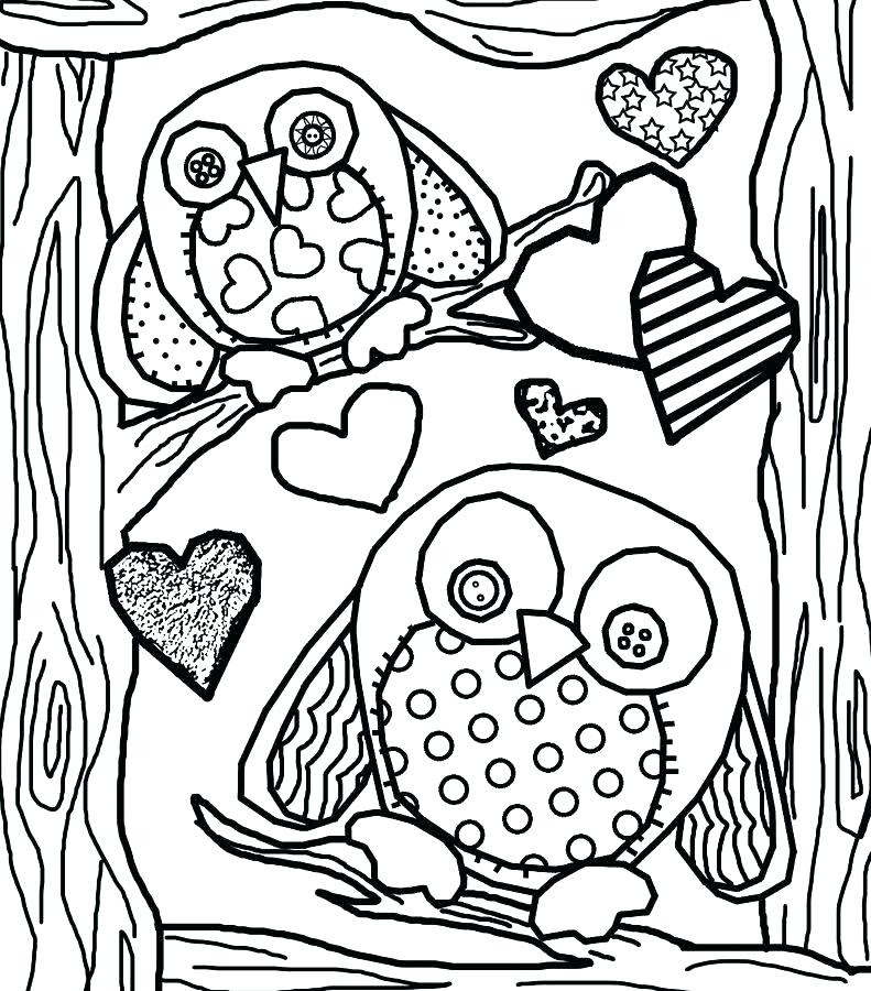 Hard Owl Coloring Pages at GetColorings.com | Free ...