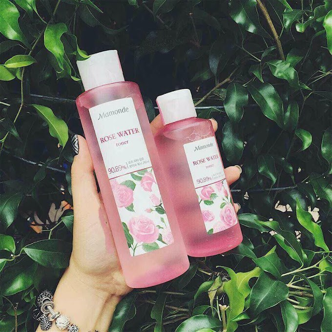 [Review] Nước hoa hồng không cồn Mamonde Rose Water Toner
