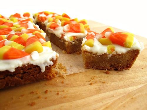 candy corn shortbread