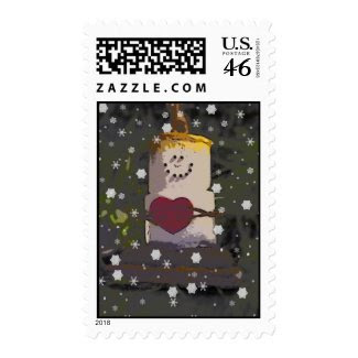 S'mores Snowman Postage 2