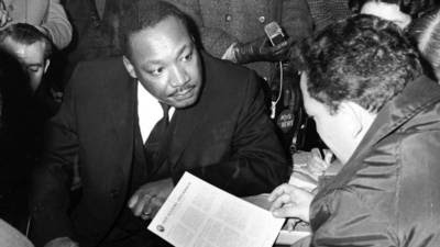 Rev. Martin Luther King Jr. in Chicago