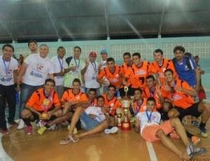 Alto do Rodrigues - campeão potiguar de futsal (Foto: Jefte/Blog Alto Notícias)