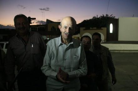 Fausto Vallejo en Apatzingán, Michoacán. Foto: Xinhua / Armando Solís