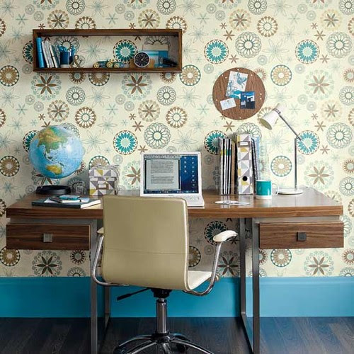 idealhomemag- contemporary home office contemporary home office