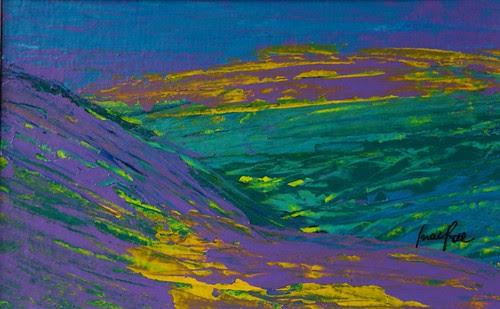 Scottish Hills  by Roberta MacRae Artist in the Landscape