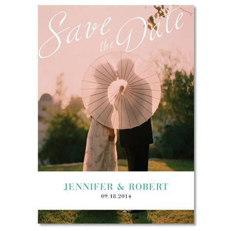 Top 10 Save The Date Cards For 2014 Weddings
