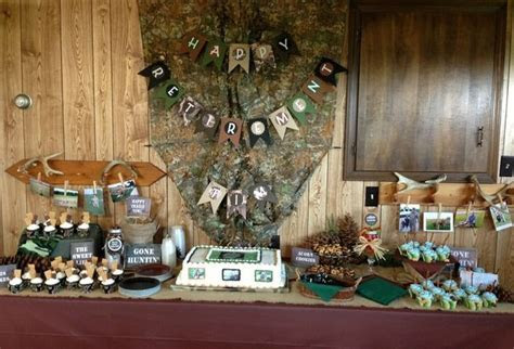 25  best ideas about Hunting party decorations on