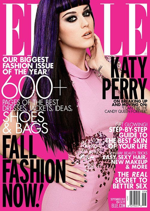 ELLE - September 2012, Katy Perry