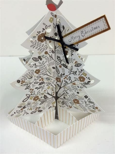 Hallmark Christmas Luxury Pop Up 3D Tree Limited Edition