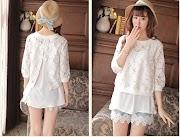 32+ Model Baju Atasan Brokat Korea, Inspirasi Baru!