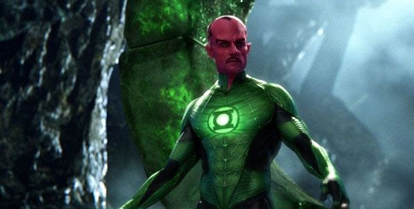 Sinestro, played by Mark Strong, wants a new type of ring to be forged to combat evil(?) in GREEN LANTERN.