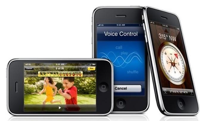 iPhone 3GS foi lançado no Brasil em versões de 16 e 32 GB (Foto: Divulgação/Apple)