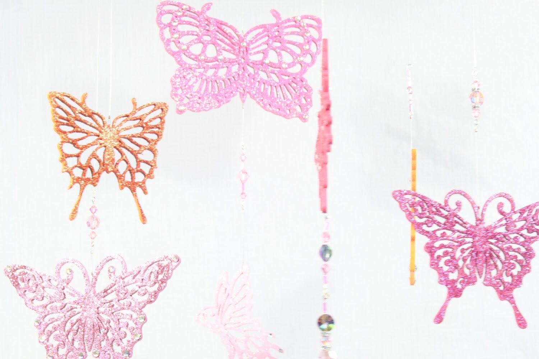 Handpainted Handmade Whimsical Butterfly by BethBakerFocalArt