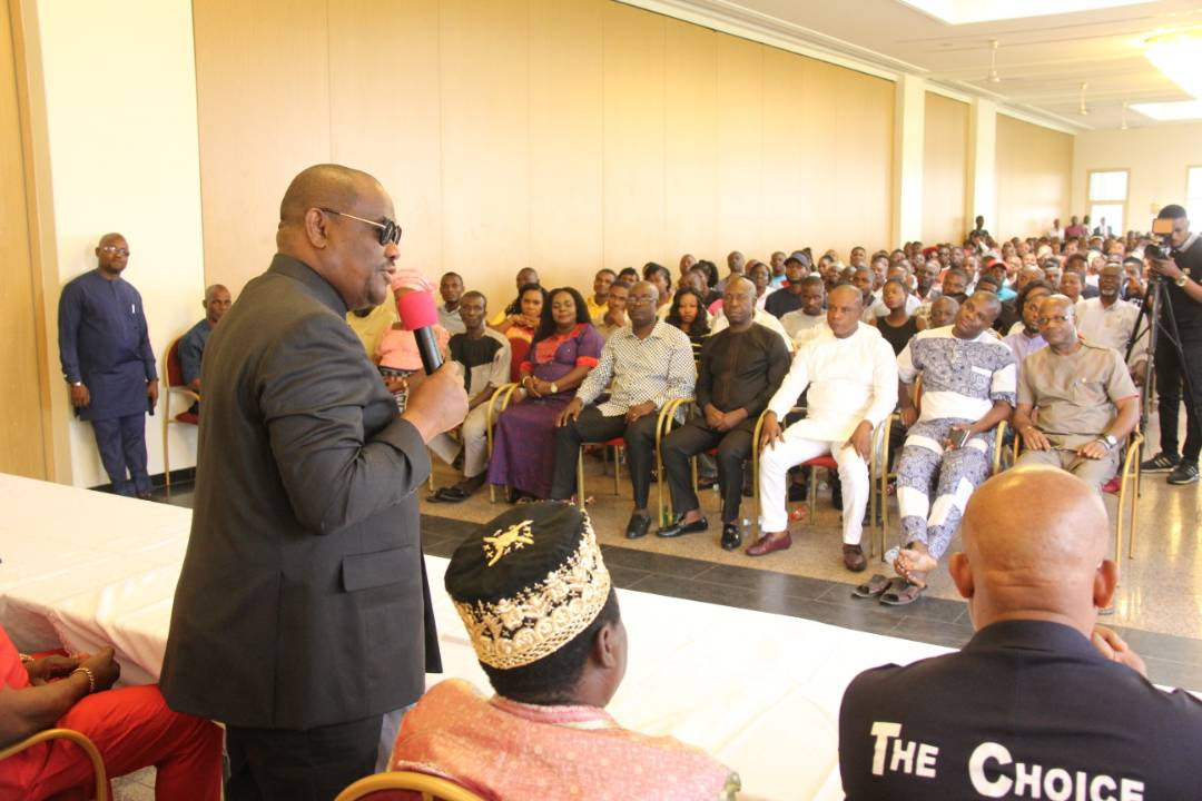 """Wike carpets Amaechi, Peterside, APC, says """"they only gain recognition by insulting me"""""""