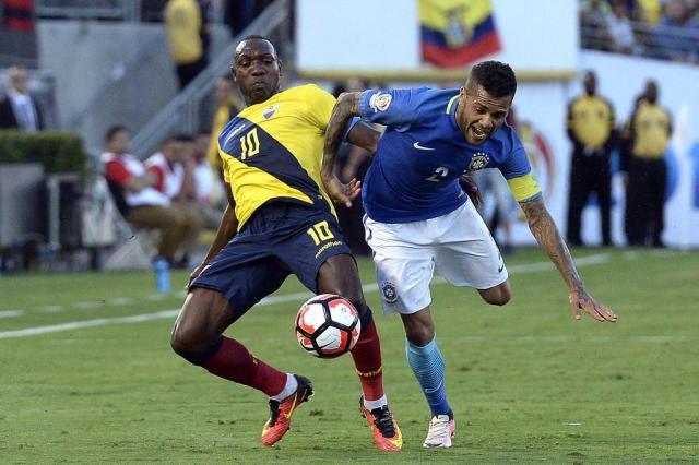 Brasil decepciona e empata com o Equador em estreia na Copa América Centenário Kevork Djansezian/GETTY IMAGES NORTH AMERICA/ AFP
