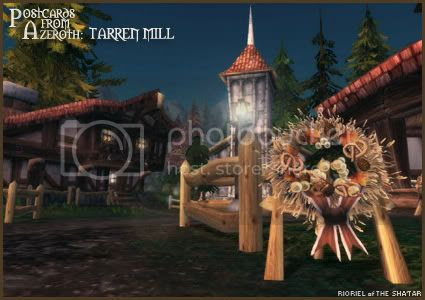 Postcards of Azeroth: Tarren Mill at Brewfest, by Rioriel Whitefeather