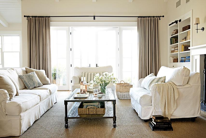 Best 25  Farmhouse living rooms ideas on Pinterest | Modern ...