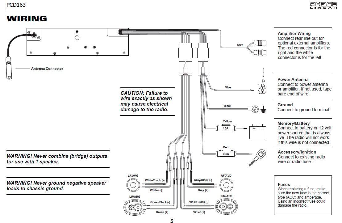Jensen Vx7020 Wiring Harness Diagram