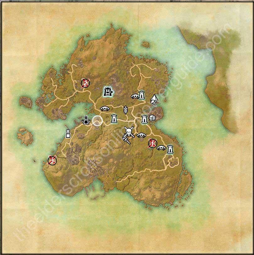 Vvardenfell Treasure Map 3