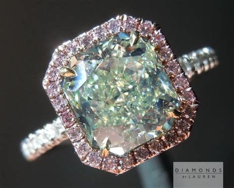 25  best ideas about Green diamond rings on Pinterest