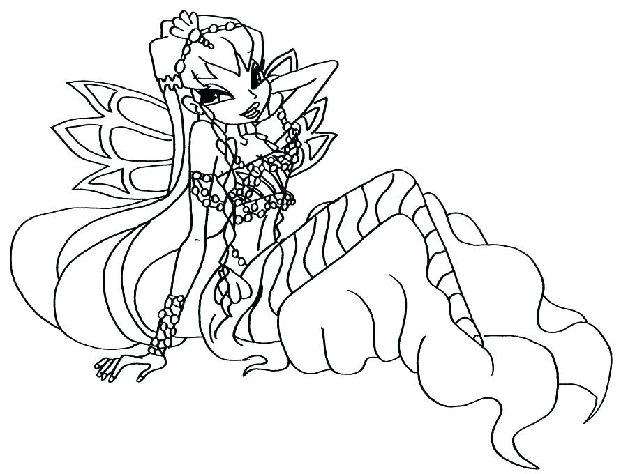 Winx Club Musa Coloring Pages At Getcoloringscom Free Printable