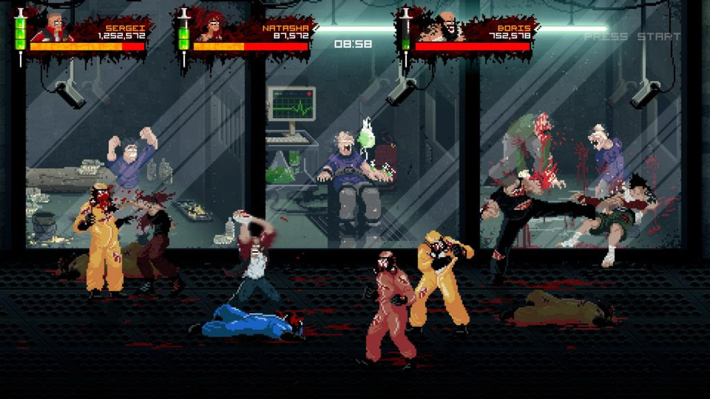 Best horizontal beat'em up