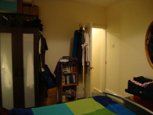 view of Pete's bedroom