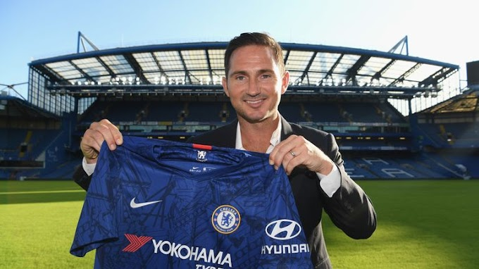 OFFICIAL: Chelsea Appoint Lampard as Manager