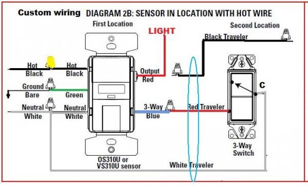 Wiring Diagram  31 How To Wire 2 Motion Sensors In