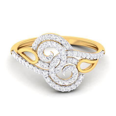 Anniversary, Engagement Women'S Designer Diamond Ring