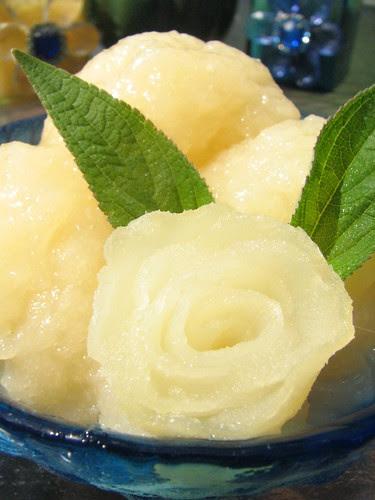 Gingered Pear Sorbet