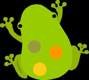 カエルのイラスト 無料イラスト