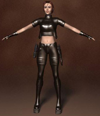 Human 3d Model Female Special Police 3ds Max Model Free - free download 3d models 3d max