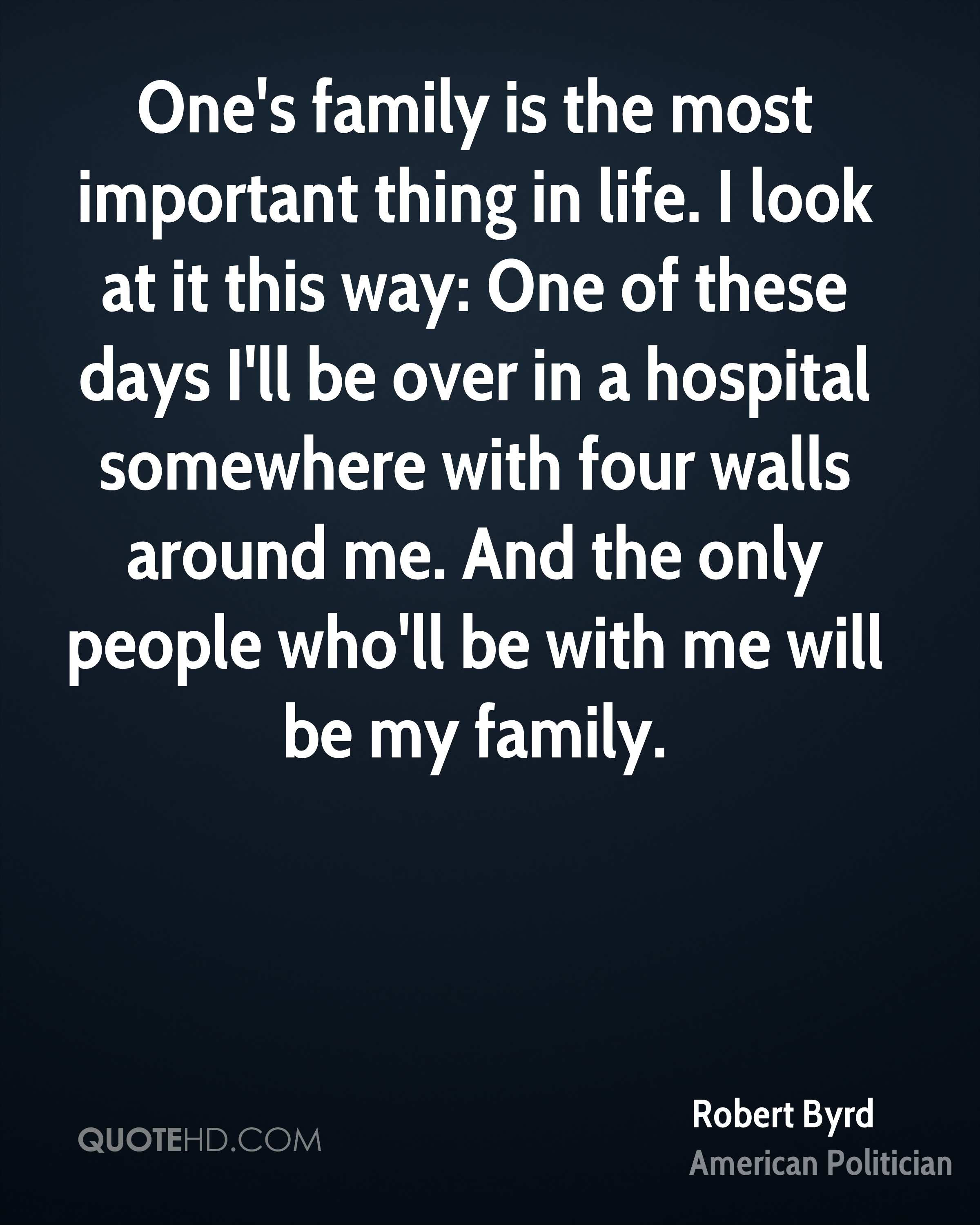 Robert Byrd Family Quotes Quotehd