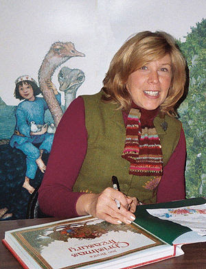 The children's author and illustrator, Jan Bre...