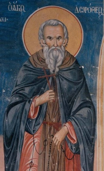 Learning from St. Dositheos' Example