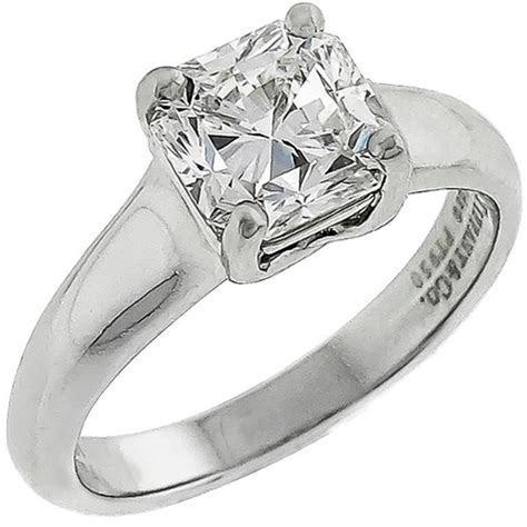 Tiffany and Co. 1.50 Carat Lucida Cut Diamond Engagement