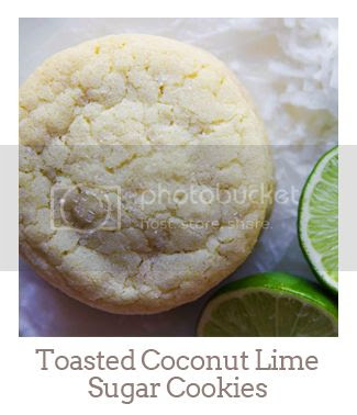 """""""Toasted Coconut Lime Sugar Cookies"""""""