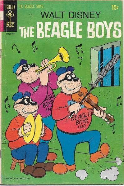 Walt Disney The Beagle Boys Comic
