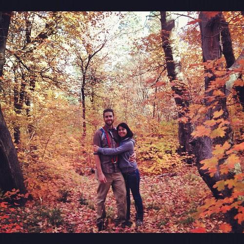 A fall hike in NM