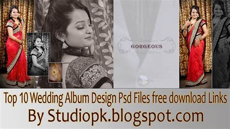 Top 10 Wedding Album Design Psd Files free download Links
