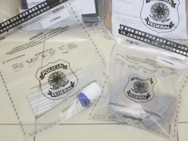 Material apreendido em operação (Foto: Divulgação/ Polícia Federal)