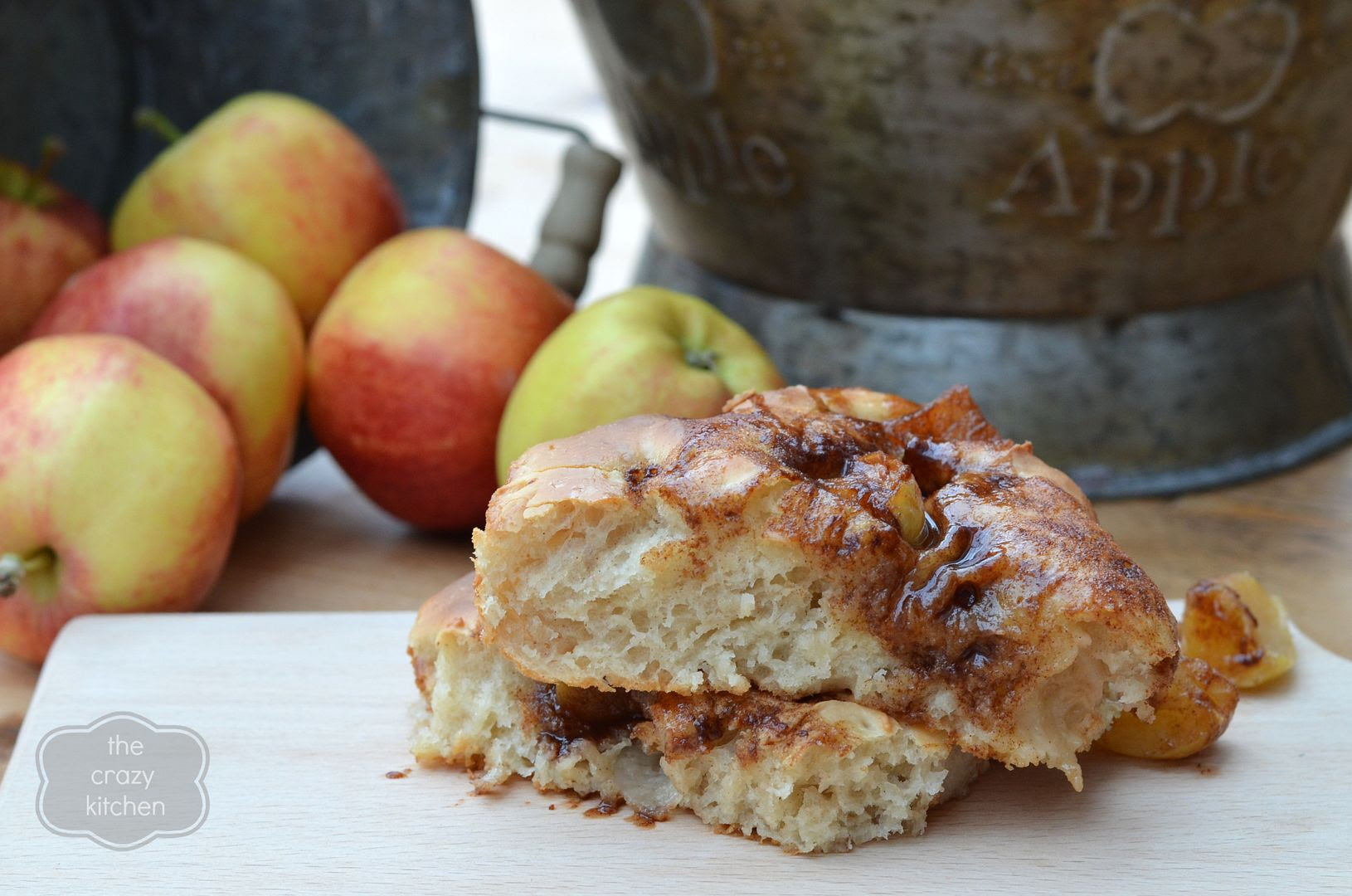 Cinnamon Apple Focaccia