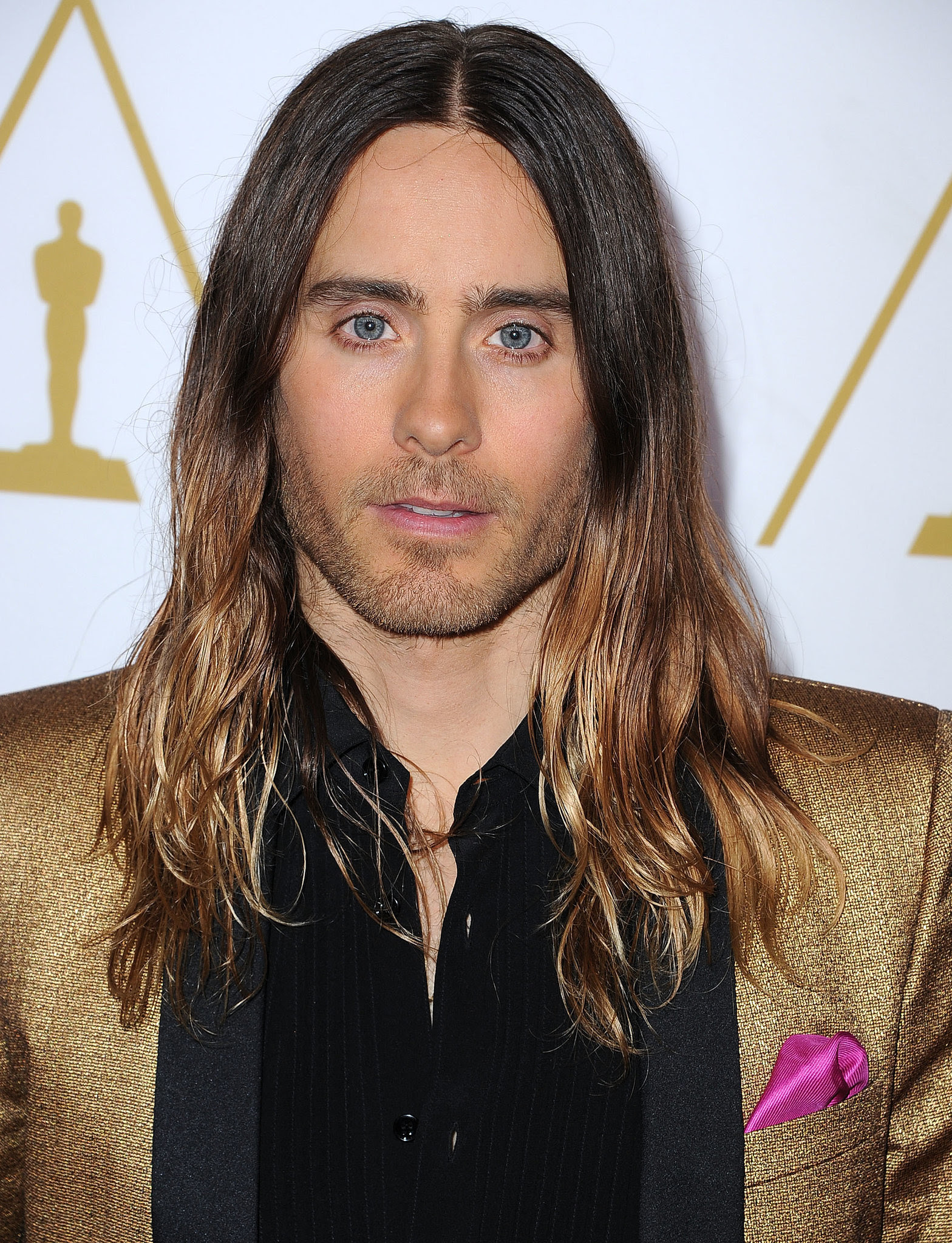 Bun Wet Or Waves Help Jared Leto Pick An Oscars Hairstyle New