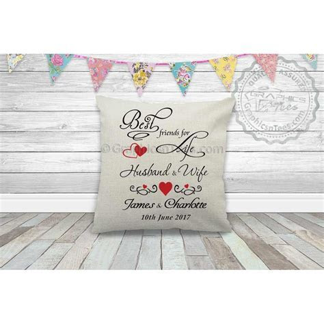 Cushions : Best Friends For Life Husband & Wife